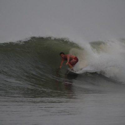Luciano Zancan em Punta Mango