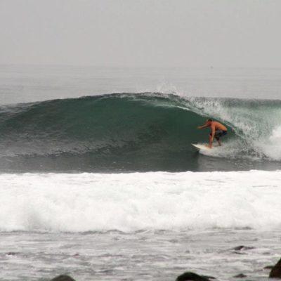 Ricardo Basso (Neco) em Punta Roca